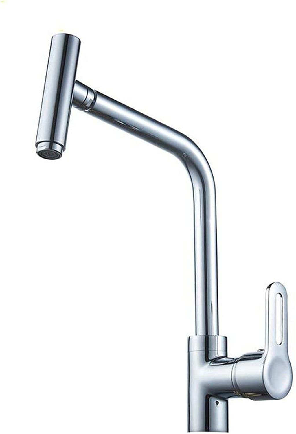 Oudan Kitchen Mixer faucets Solid Brass Kitchen Sink tap hot and Cold Sink Mixer Mixer taps 720 Degree Swivel spout Sink Faucet (color   -, Size   -)
