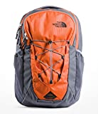 The North Face Jester Backpack, Persian Orange/Grisaille Grey, One...