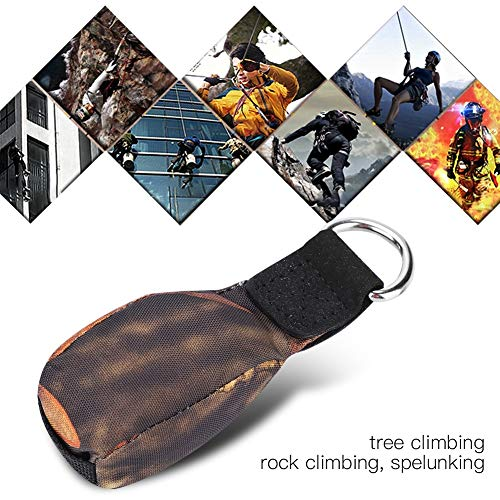 OKBY Wurfsack - Outdoor-Sport Baumpfleger Baum Klettern Spelunking Seil Werfen Gewicht Tasche