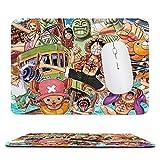 海賊王 フィギュア マウスパッド パソコン周辺機器 アニメ ゲーム マウスパッド キーボードパッド 防水 滑り止め 形状 かわいい 雑貨 ファッション
