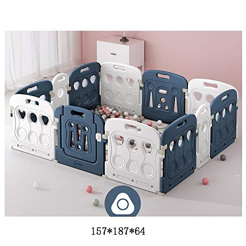 Lowest Prices! Baby Gate,Children's Play Fence Children Toddler Crawling Mat Safety Fence Baby Indoo...