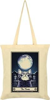 Deadly Tarot Felis - The Moon Tote Bag Cream 38 x 42cm