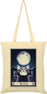 Deadly Tarot Felis - The Moon Tote Bag Cream 38 x 42cm