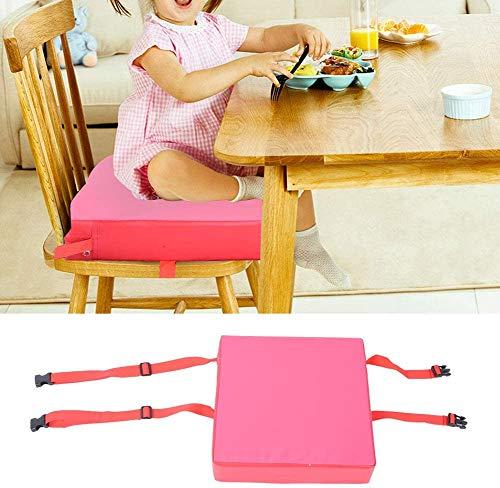 Yiteng赤ちゃん用キッズ用ポータブルダイニングクッション椅子ブースター食事食事イス用(レッド)