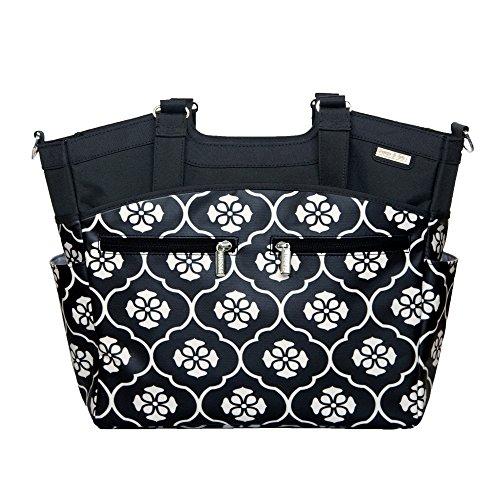 JJ Cole Changing Bag Camber (Black Floret)