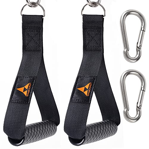 Heavy Duty Exercise Handles for Cable Machines and Resistance...