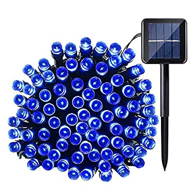 Joomer Solar Christmas Lights, 39ft 100 LED Waterproof Solar String Lights Fairy Lights for Outdoor, Home, Christmas Tree, Garden, Wedding, Patio, Party, Holiday Decorations