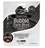 BioMiracle Charcoal Bubble Face Mask with Hyaluronic Acid and Retinol