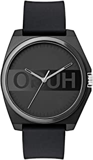 HUGO by Hugo Boss Men's #Play Quartz Watch with Silicone Strap, Black, 20 (Model: 1520006)