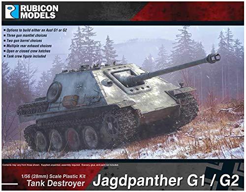 ルビコンモデル 1/56 ドイツ軍 ヤークトパンター G1&G2 プラモデル RB0064
