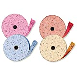 amscan 3401999 2000 Double Tickets Roll, Assorted Color (Red/Pink/Blue/Gold)
