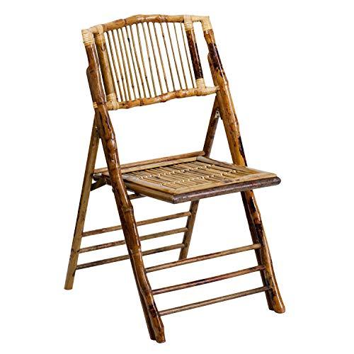 Flash Furniture American Champion Bamboo Folding Chair