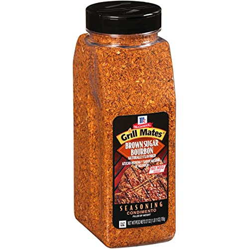 McCormick Grill Mates Brown Sugar Bourbon Seasoning, 27 oz
