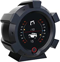 Updated GPS Speedometer Real-Time Monitoring Satellite Positioning Heads Up Display for Cars Off-Road Vehicle Pitch/Inclin...