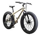 Mongoose Malus Adult Fat Tire Mountain Bike, 26-Inch Wheels, 7-Speed,...