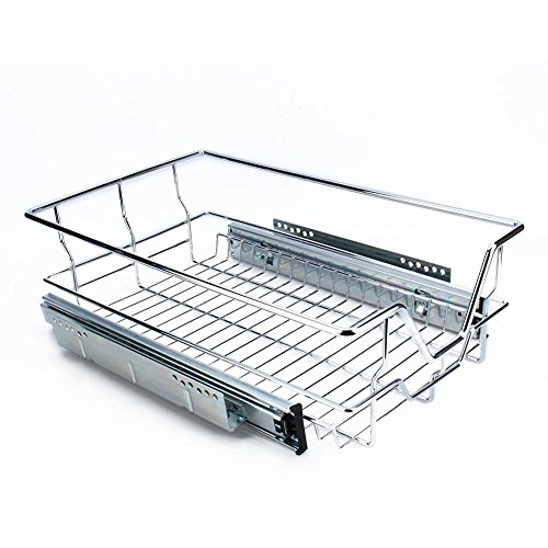 Kitchen Pull Out Shelves for Cabinets, Sliding Cabinet Organizer for Kitchen Cabinets, 10.4