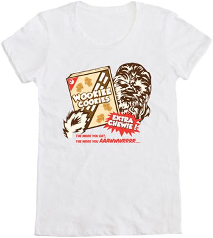 Star Wars Cookie Wookie Juniors Grey TShirt