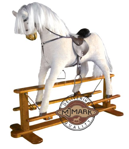 Albino - Luxurious Very Large Rocking Horse Sun from MJMARK