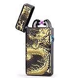 BBLAC 2KEY Briquet USB électrique Windproof Lighter Plasma Lighter Briquet...
