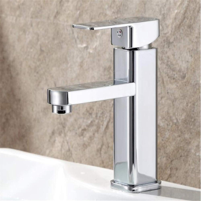 Basin Mixer Tap ?Zinc Alloy Basin Mixing Valve Faucet Single Hole Hot and Cold greenical Washbasin