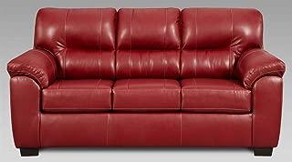 Chelsea Home Sleeper Sofa in Austin Red
