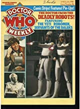 Doctor Who Weekly No. 25 (April 2nd 1980) (Deadly Robots, Yeti Robomen, Servants of the Daleks, Jean Marsh, Tales from the Tardis: H G Wells's First Men in the Moon, Star Beast, Galaxy Four, Outsider)