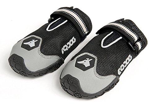 EQDOG 420-152 4 Season Shoes, XXS, schwarz/grau