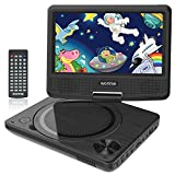 "WONNIE Portable DVD player, 7.5"" DVDs Player for Kids and Car, Swivel Screen"