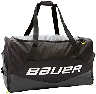 "Bauer Hockey Premium Carry Bag, Black (Senior - 37"" L x 20"" H x 17.5"" W)"