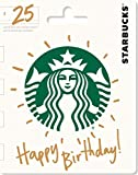 Starbucks Happy Birthday Gift Card $25