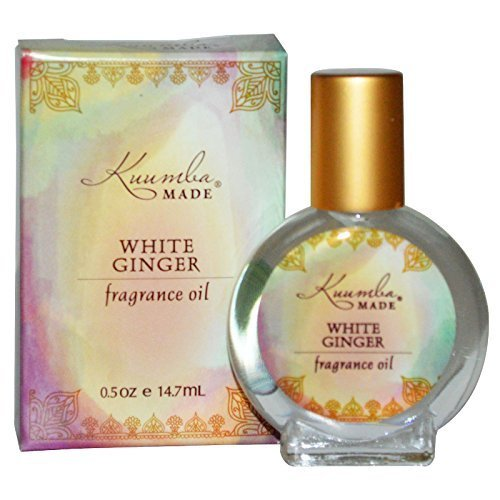 Kuumba Made, Fragrance Oil, White Ginger, 0.5 oz (14.7 ml) by KUUMBA MADE