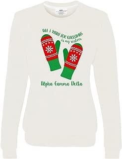 Alpha Gamma Delta All I Want for Christmas Crew