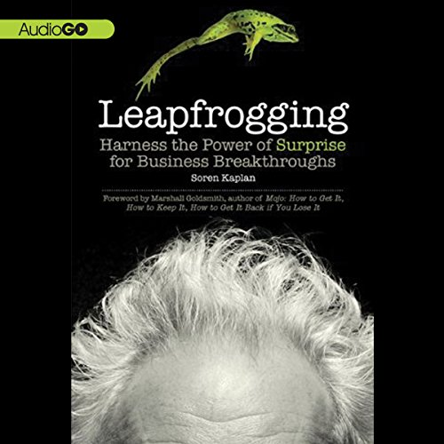 Leapfrogging audiobook cover art