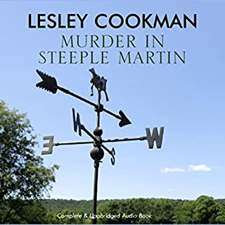 Murder in Steeple Martin audiobook cover art