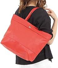キャリーオンバッグ トートバッグ 旅行 トラベル スーツケースに固定 通勤 一泊旅行 キャリー取付可 (赤)
