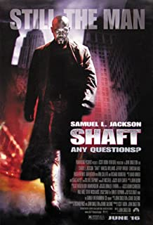 Shaft 2000 - Movie Poster (Size: 27'' x 40'')