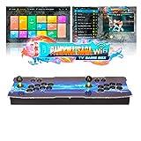 ARCADORA 3A Original Pandora Saga Home Arcade Console 6800 en 1, (200 Juegos 3D) Soporte 4 Jugadores, Juegos Descarga WiFi, 8 Botones, búsqueda precisa de Juegos, máquina de Video HD clásica de 720P