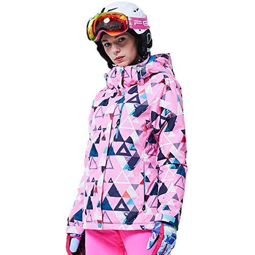 BSWL - Disfraz de esqu para mujer, cortavientos e impermeable, transpirable y clido, para invierno, esqu y alpinismo