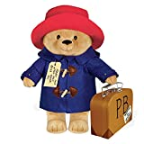 "YOTTOY Paddington Bear Collection | Classic Paddington Bear Stuffed Animal Plush Toy w/ Suitcase - 16""H"