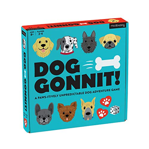 Mudpuppy Dog-Gonnit Board Game – for 2-4 Players, Ages 8+ - Teaches Real-Life Dog Caring Skills – Fun and Engaging Game for Families to Play Together, Multicolor (0735356033)