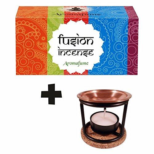 Incienso natural aromaterapia 12 fragancias quemador