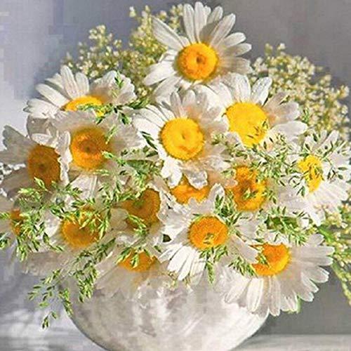 5D DIY diamante pintura flores jarrón Kit de punto de cruz taladro completo bordado mosaico arte imagen de diamantes de imitación decoración del hogar A17 30x40cm