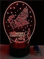 3Dナイトライト航空機3Dイリュージョンランプと7色変更装飾ランプリモコン付きリビングベッドルームバークリスマスギフトデコレーション子供の誕生日プレゼント-B25-B32