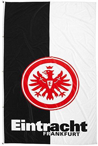 Hissflagge Eintracht Frankfurt - 150 x 250 cm + gratis Aufkleber, Flaggenfritze®