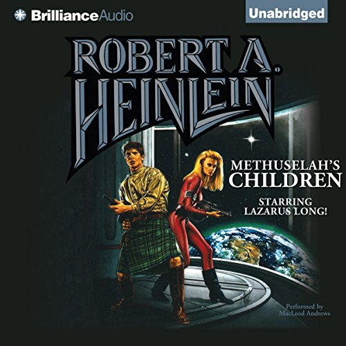 Methuselah's Children audiobook cover art