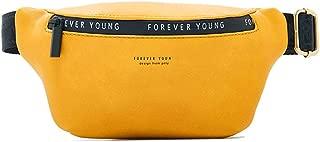Women's pockets solid color ladies bag waist bag Messenger bag female