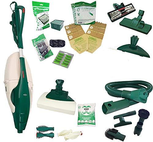 S&G Group - Aspiradora reacondicionada Folletto VK 131 con cepillo para alfombras EB y accesorios de tubo
