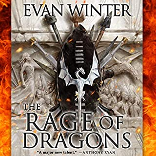 Page de couverture de The Rage of Dragons