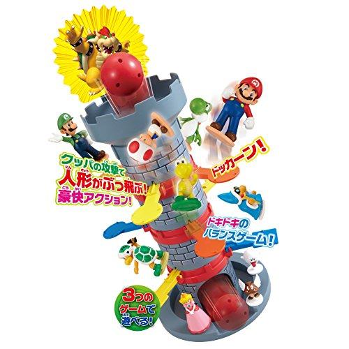 エポック(EPOCH)スーパーマリオぶっ飛び!タワーゲーム15x15x31.3cm