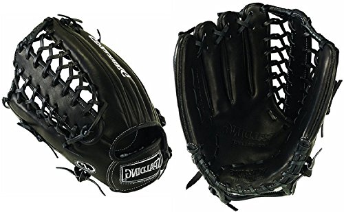Spalding pro-select Serie 32,4cm Trapeze Web Fielding Handschuh, schwarz
